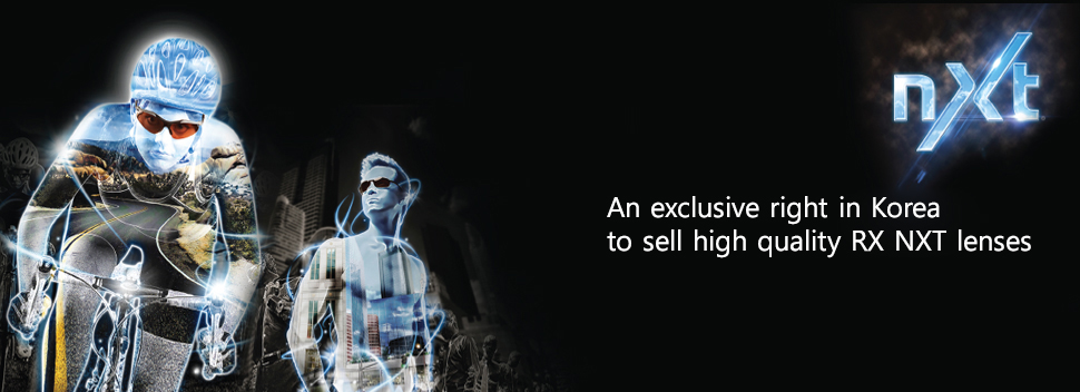 An exclusive right in korea to sell hiigh quality RX NXT lenses