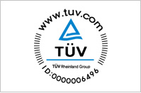 - Certified by TUV safety standards, Germany