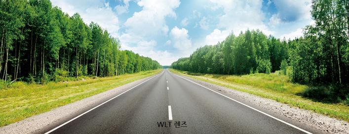 일반렌즈 와 WLT 렌즈 차의 이미지